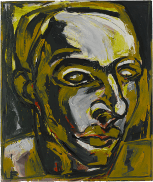 Luis Frangella, Yellow dreamer, 1985