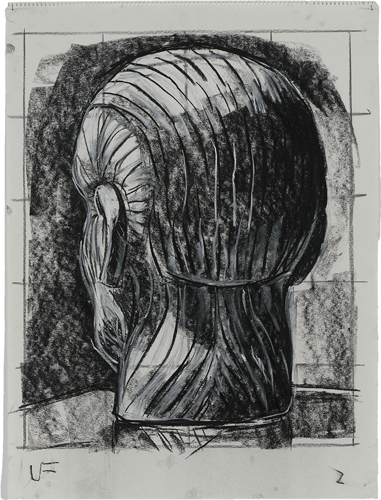 Luis Frangella, Study on the Movement of a Head, 1986