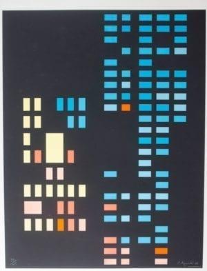 Carmen Aguadé, Sin título, 1974