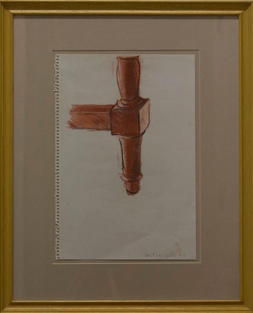 Luis Frangella, Sin Título, 1990