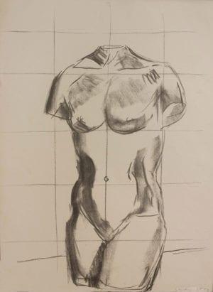 Luis Frangella, Study, 1983
