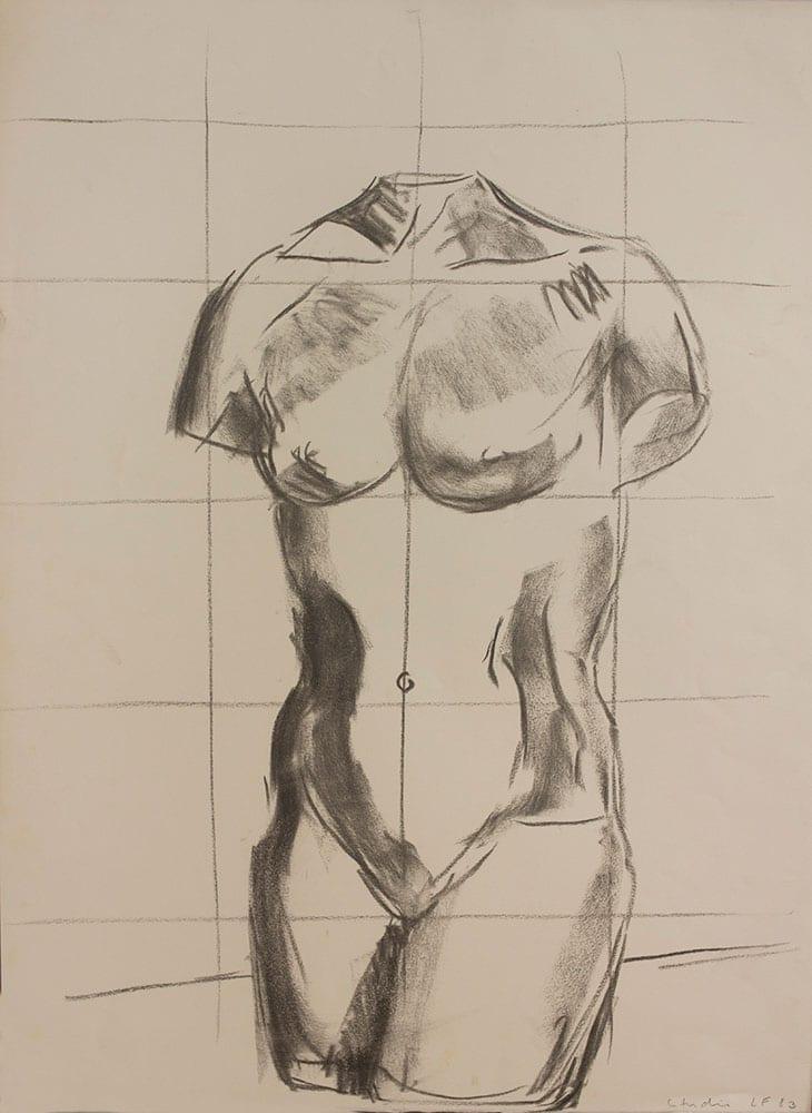Luis Frangella, Estudio, 1983