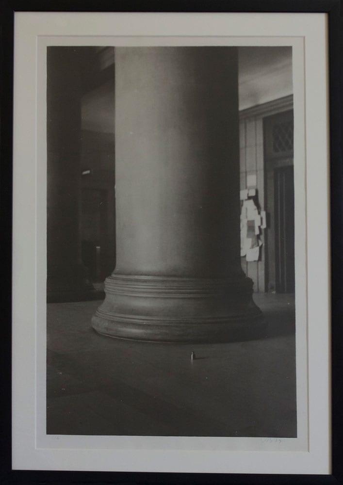 Juan Navarro Baldeweg, Peso y columna, 1973