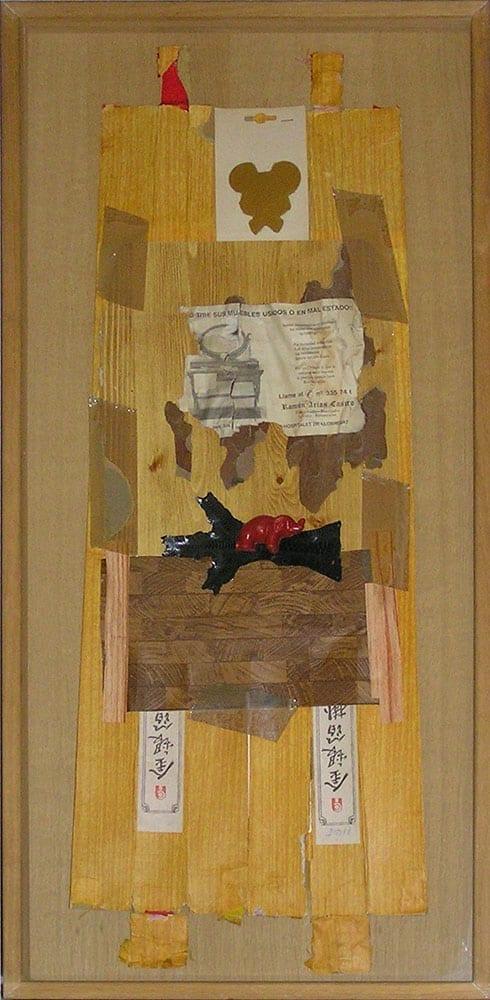 Carlos Pazos, Autorretrato del artista despistado, 1991