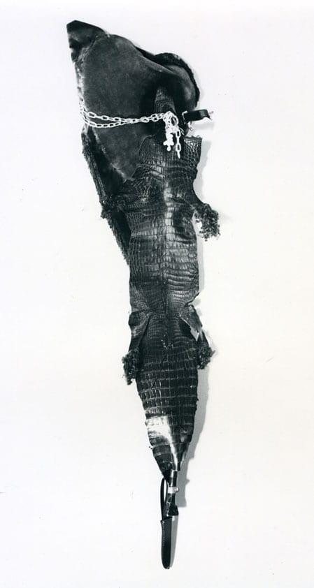 Carlos Pazos, Con llanto de cocodrilo (primera versión), 1986