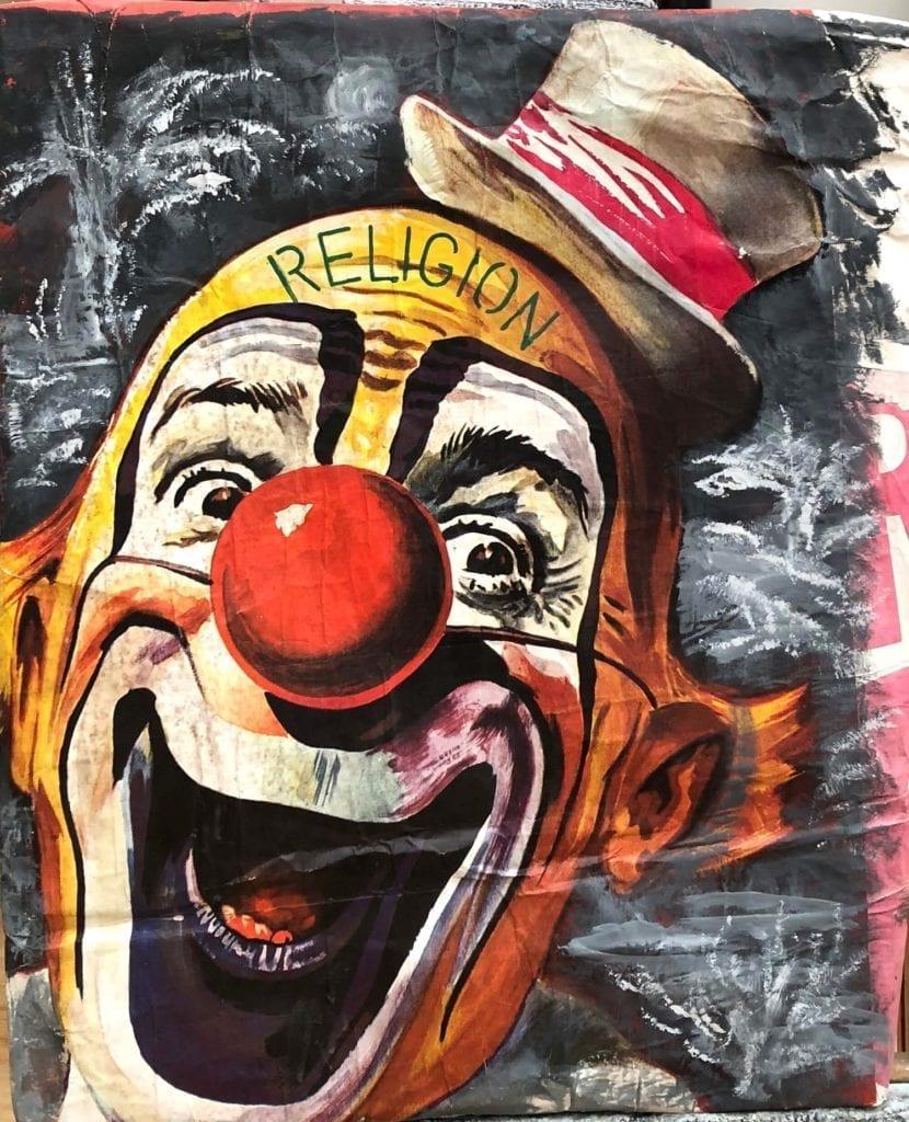 Patricia Gadea, Serie circo. Religión, 1992