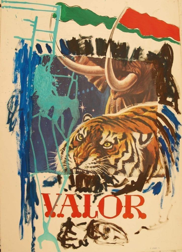 Patricia Gadea, Serie circo. Valor, 1991