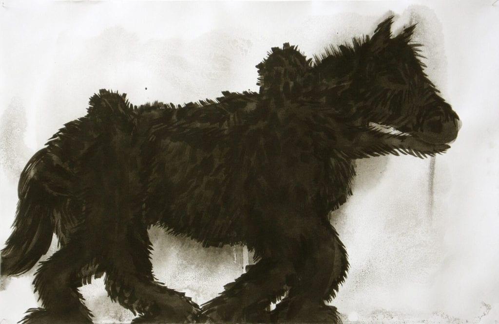 Tanja Smit, Sin título (hedgehorsemen), 2011