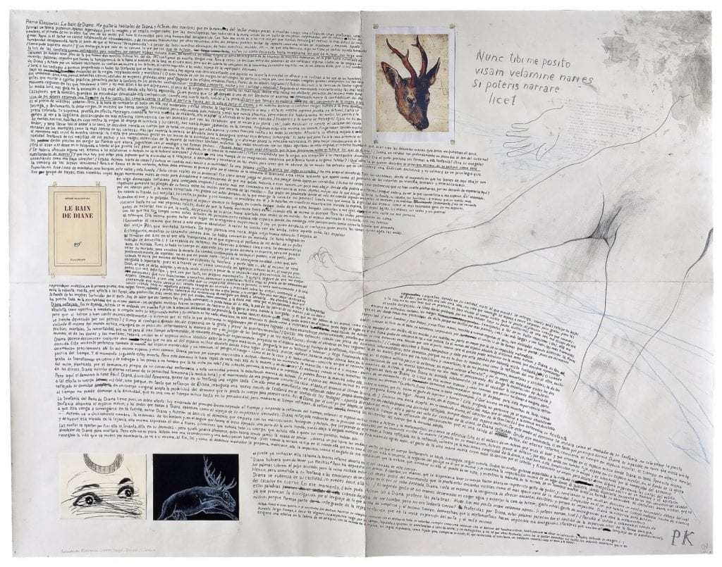 Oriol Vilapuig, Le bain de Diane-Pierre Klossowski, 2013