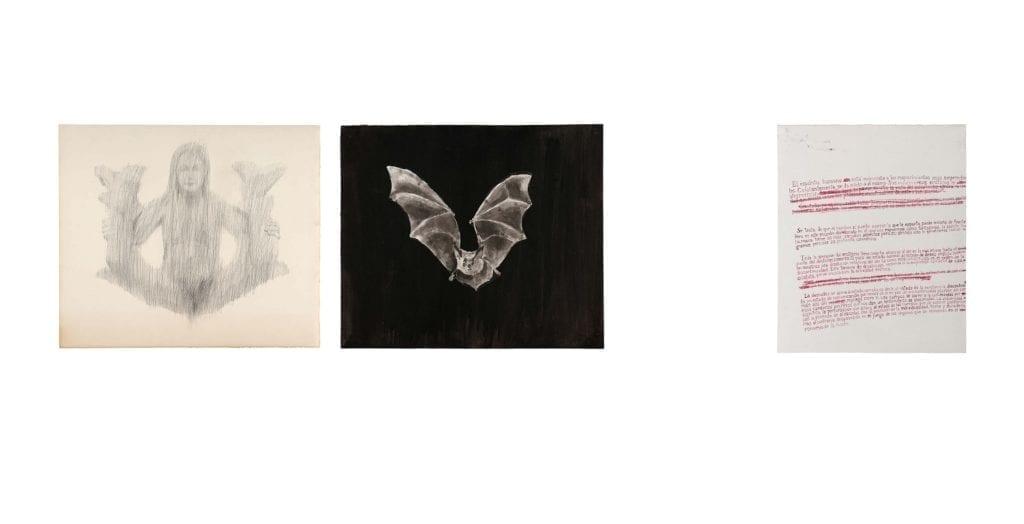 Oriol Vilapuig, L'erotisme –Georges Bataille, 2012. ( tríptico )
