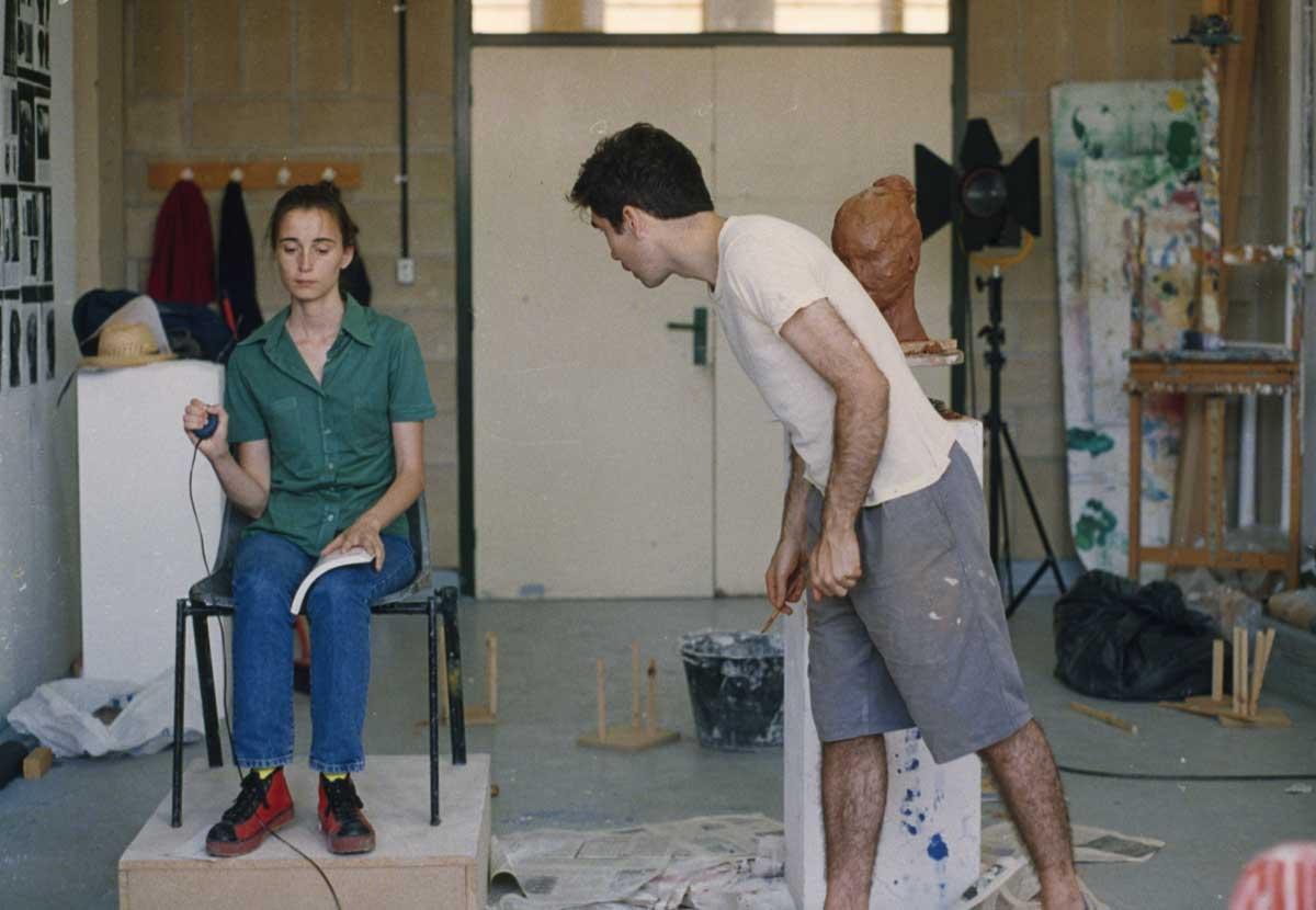 Joana Cera, The Model and the Artist, 1996