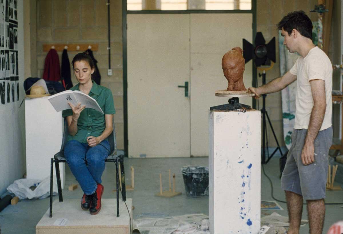 Joana Cera, La modelo y el artista, 1996