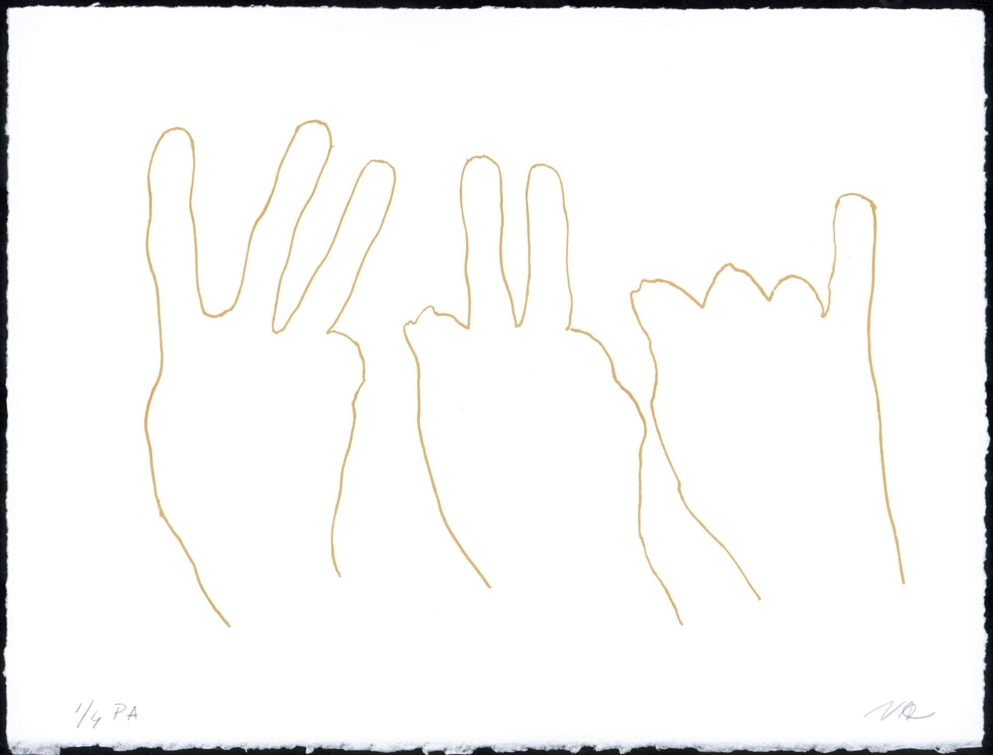 Susana Solano, Alrededor de una mano I, 2006
