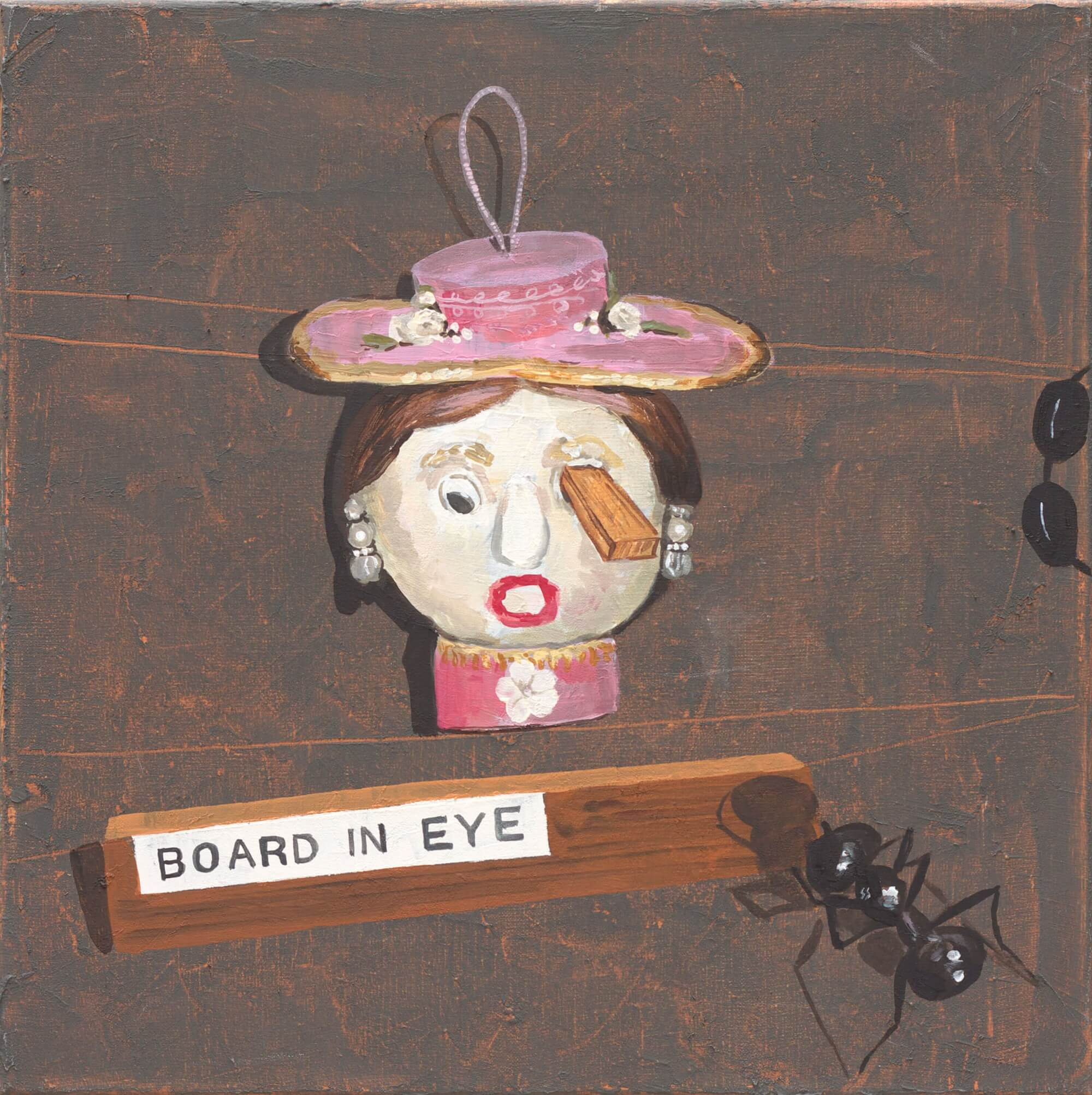 Curro González, Board in eye, 2012