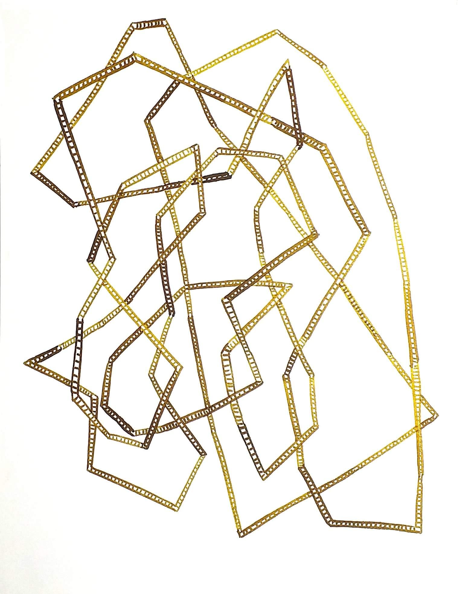 Olivia Flecha. Tobacco Ladders 3 , 2014