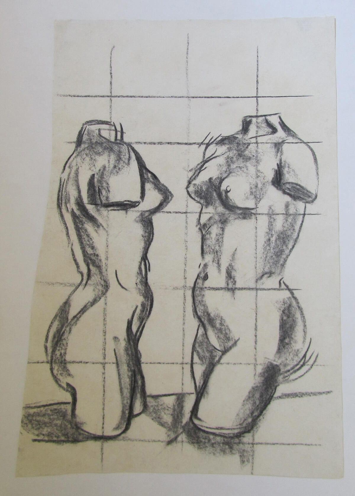 Luis Frangella, Sin título, 1983