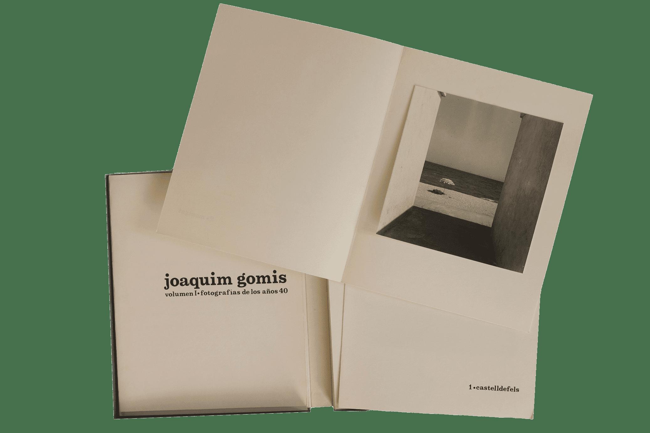 Joaquim Gomis, Fotografías de los años 40, 1976