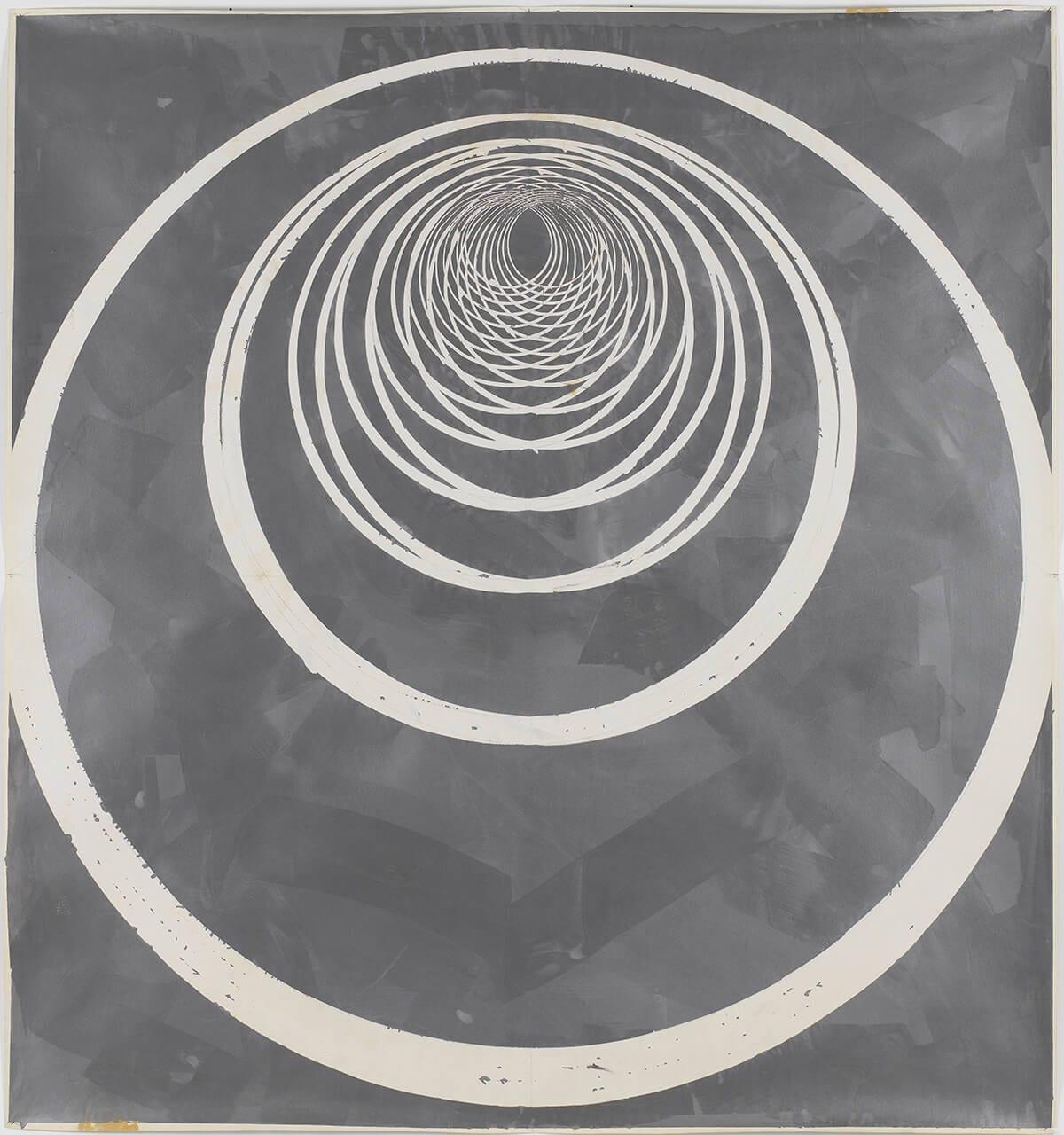 Luis Frangella, Geometrico, 1980