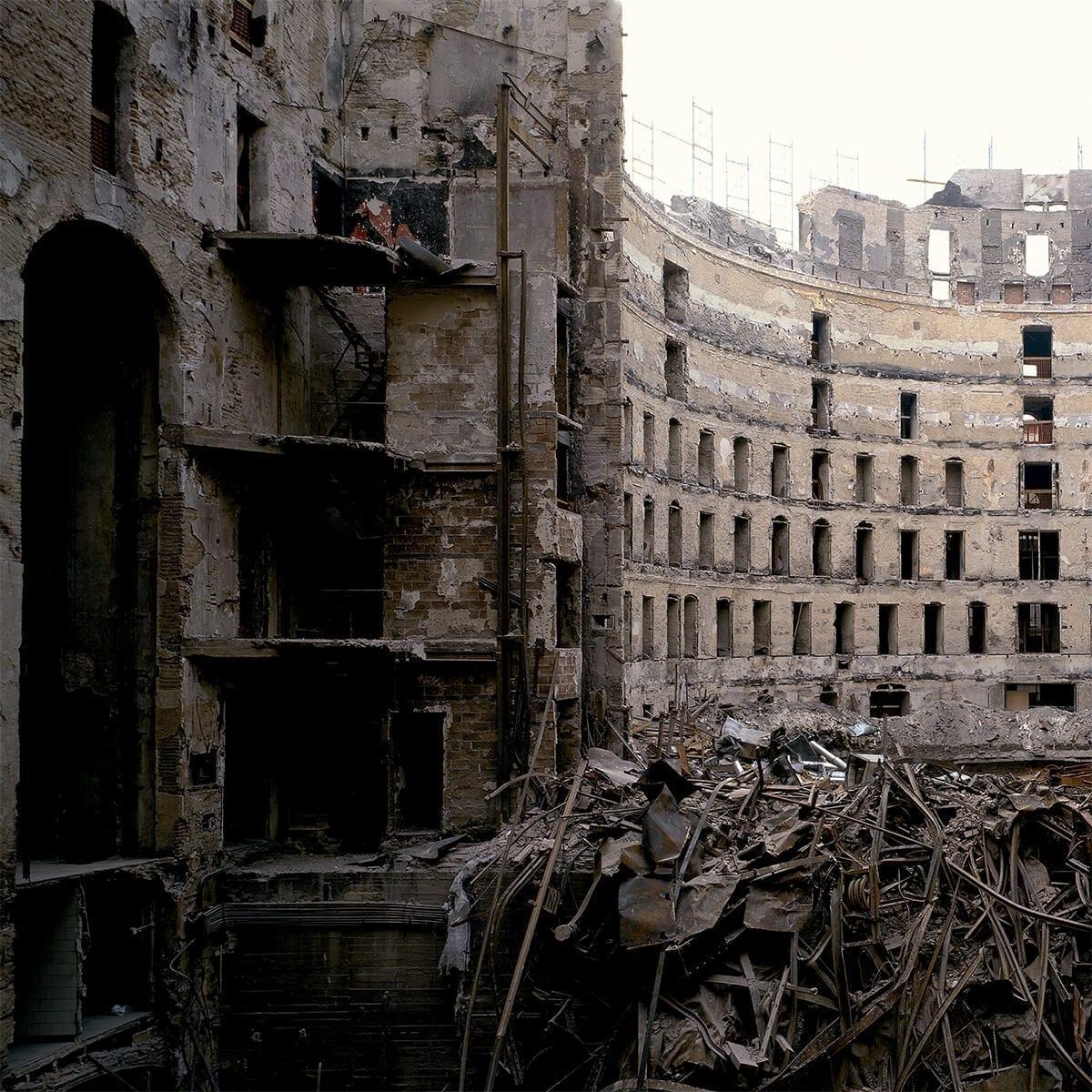1.- Ferran Freixa, Gran Teatro del Liceo, Barcelona. Después del incendio,1994