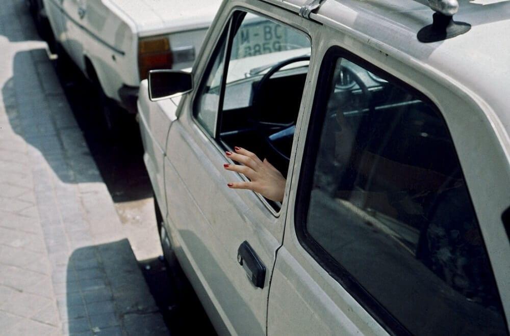 Miguel Ángel Mendo, Painted nails, 1976