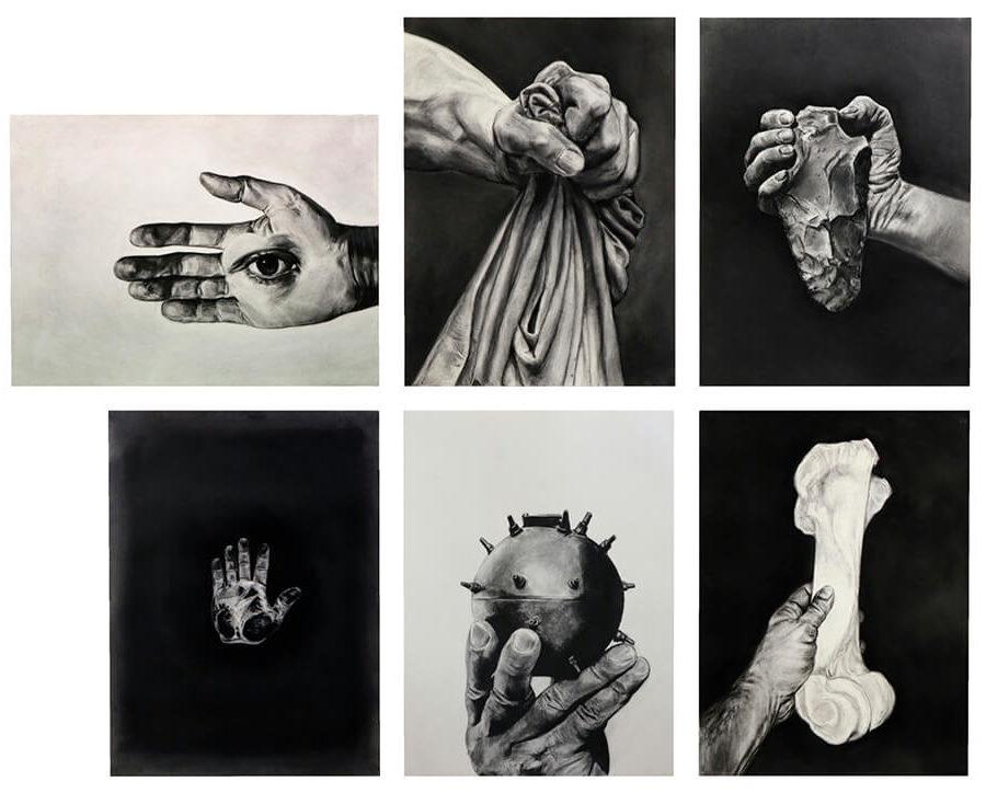 Toni Giró, Black Bilis. Group hands, 2020