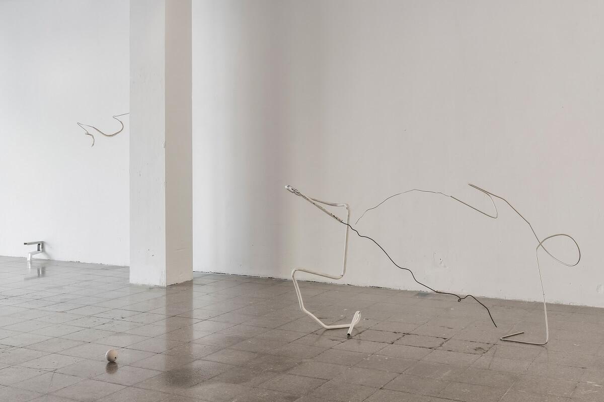 Alejandro Palacín. Pelea de esculturas, 2019